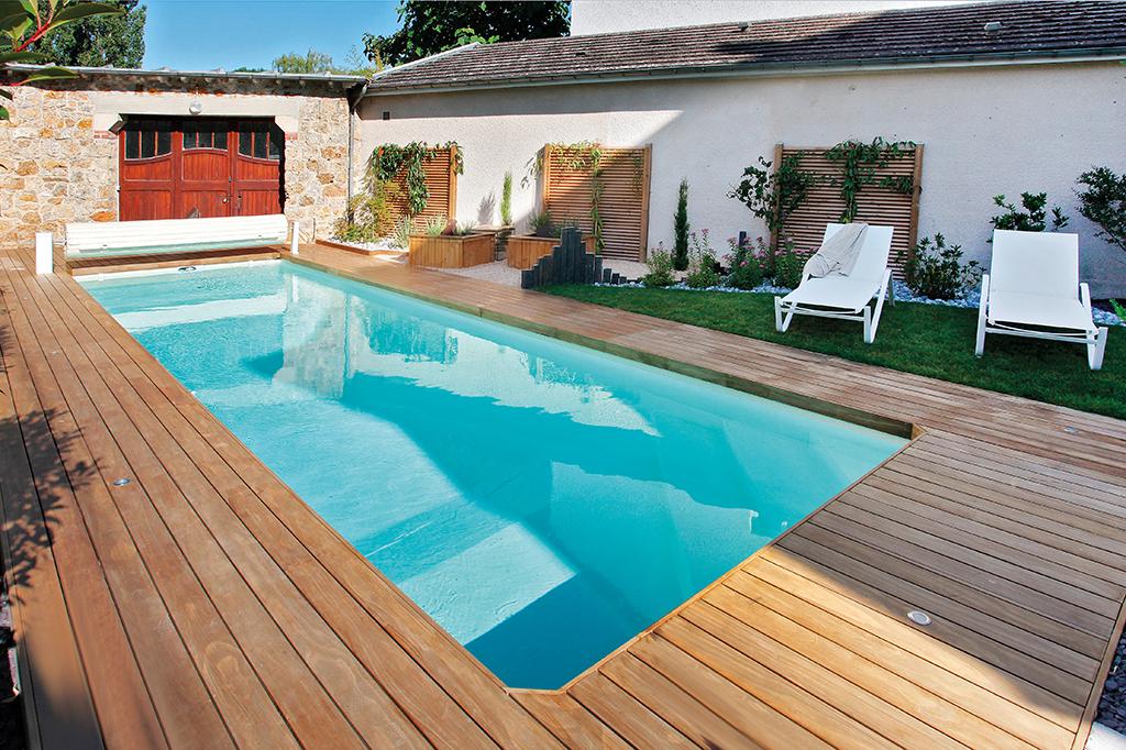 Swimmingpool direkt am Haus
