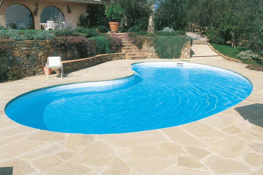 Runder Swimmingpool