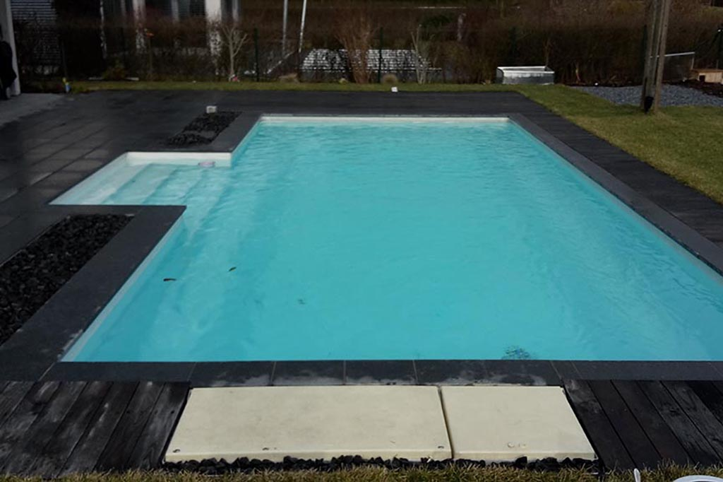 Swimmingpool mit Desjoyaux Poolfilter