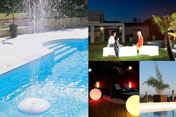Dekoration für den Pool
