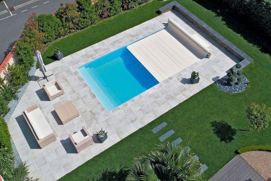 Desjoyaux Pool von oben