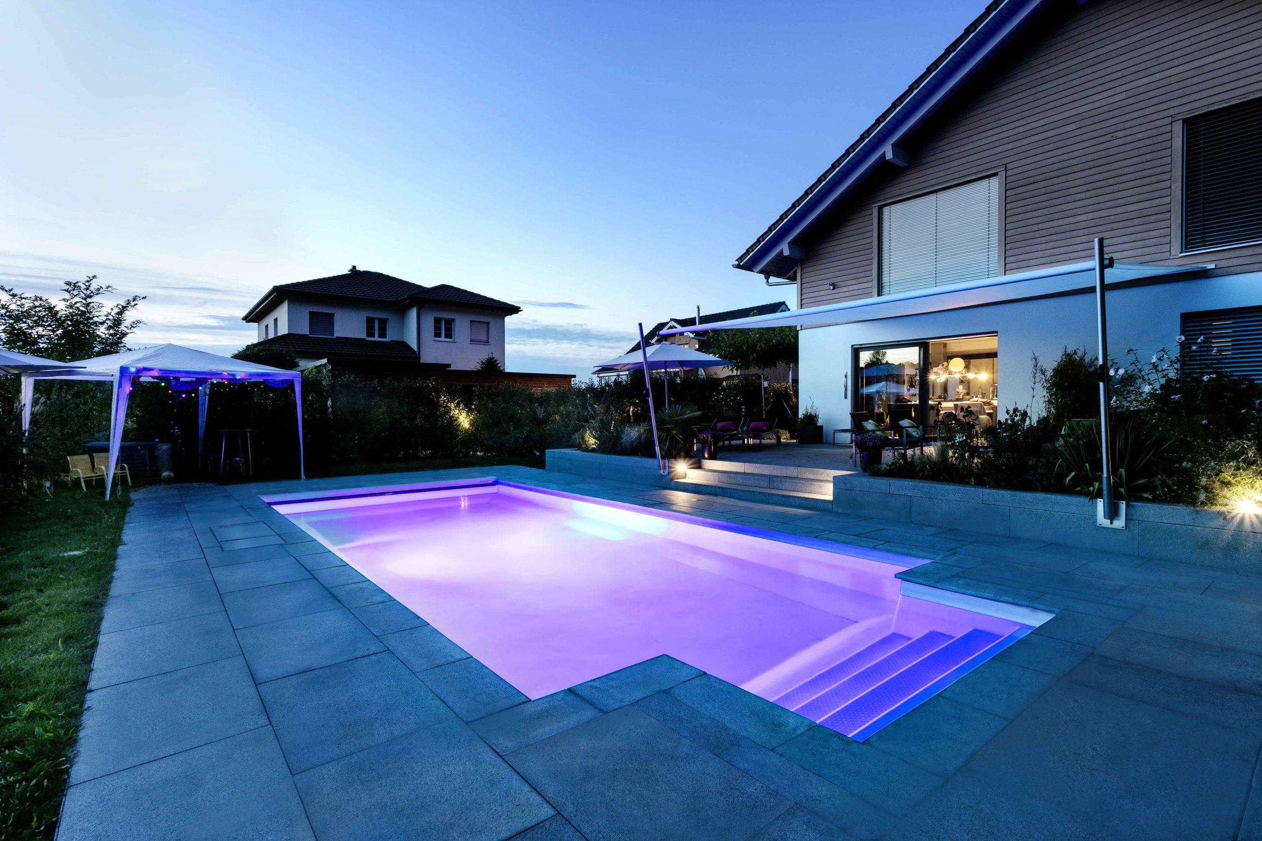 Pool Beleuchtung LED-Strahler
