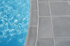 Pool Randstein classic grau
