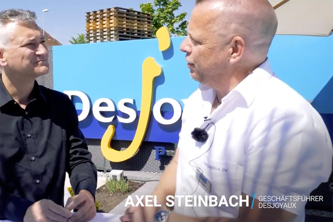 Der Swimmingpool Hersteller Desjoyaux Pools feiert seine Neueröffnung und präsentiert seine ...